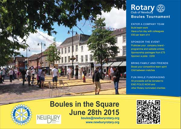 Newbury - Boules in the Square - Sunday 28th June 2015