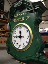 Newbury Northbrook Street - The Marks and Spencers Clock