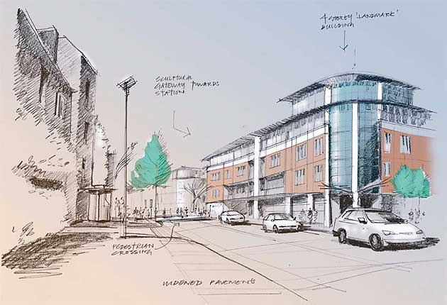 Market Street in Newbury to be redeveloped.