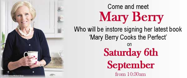 Mary Berry at Camp Hopsons Newbury 6th September 2014