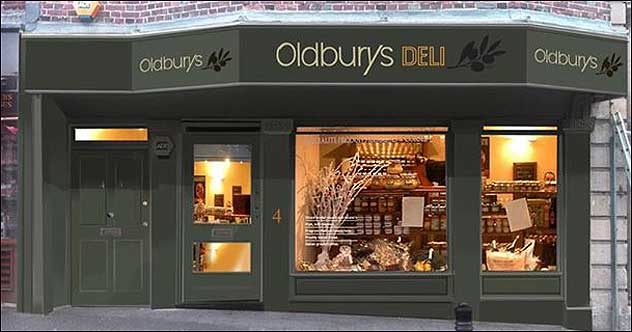 Oldbury's - A new delicatessen for Newbury