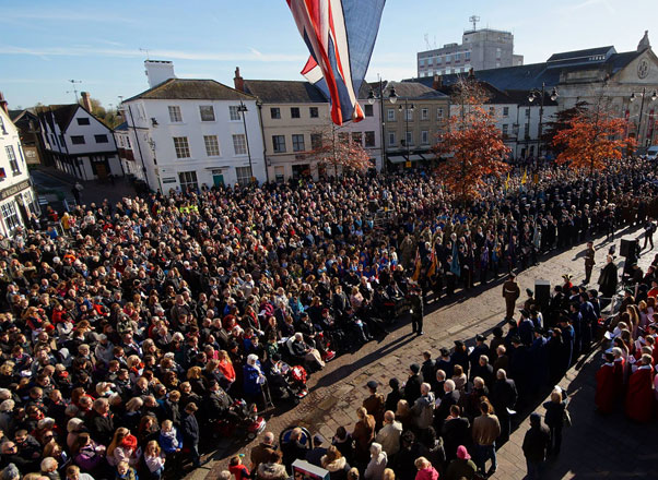 Newbury - Remembrance Ceremony 2016
